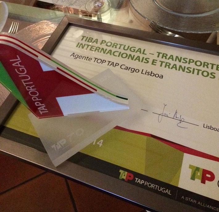 Premio Agente Top Tap Cargo